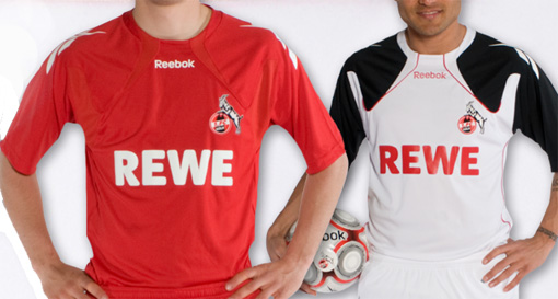 Trikots des 1. FC Köln in der Saison 2010 / 2011